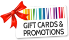 Gift Cards & Promotions
